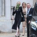 Amber Heard – Pictured leaving the High Court in London