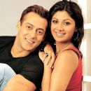 Salman Khan and Shilpa Shetty