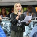 Kristen Bell at the Keep Families Together Rally and Toy Drive in Los Angeles
