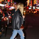 Ashley Benson in Ripped Jeans out and about in Times Square - 454 x 647