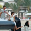 Bella Hadid enjoy some jet ski during holiday season in St. Bart's