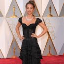 Alicia Vikander – Oscars 2017 Red Carpet in Hollywood