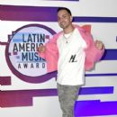 Justin Quiles: 2019 Latin American Music Awards - Press Room