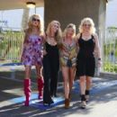 The 'Ex Wives of Rock' film scenes for the Reality Show in Los Angeles - 454 x 303