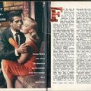 George Nader - TV Guide Magazine Pictorial [United States] (29 November 1958) - 454 x 327