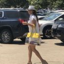 Brooke Burke in Mini Dress – Out in Malibu - 454 x 556