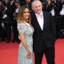 Salma Hayek–Anniversary Soiree at70th Cannes Film Festival - 454 x 740