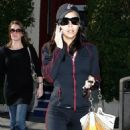 Eva Longoria Candids Leaving Her Gym In Hollywood