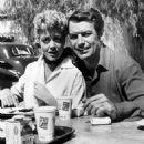 Dorothy Malone and Richard Egan