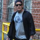 Charlie Sheen is seen leaving a medical building after a check-up in Beverly Hills, California on September 1st, 2015 - 415 x 600