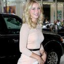 Julianne Hough arrives at NBC Studios - 396 x 594