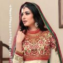 Sonal Chauhan Photo Shoot For An Indian Designer Anarkali Suits