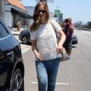 Minka Kelly- July 6, 2016- Out For Lunch In West Hollywood