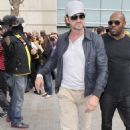 Gerard Butler: Night Out at the Lakers Game