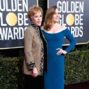 Carol Burnett and Amy Adams :  76th Annual Golden Globe Awards