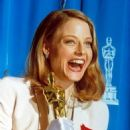 Jodie Foster At The 64th Annual Academy Awards - Best Actress for Silence of the Lambs (1992)