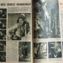 Ingrid Bergman - Billed Bladet Magazine Pictorial [Denmark] (29 April 1941) - 454 x 324