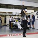 Bar Refaeli Williams Martini F1 During 2015 Formula 1 Russian Grand Prix At Sochi Autodrom
