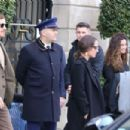 Alicia Vikander and Michael Fassbender at Girafe Restaurant in Paris 03/03/2019 - 454 x 303
