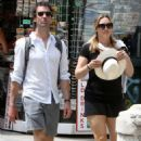 Kate Winslet and her husband Ned Rocknroll out in Venice - 454 x 663