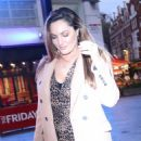 Kelly Brook – Seen leaving global studios in London