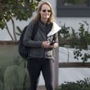 Helen Hunt Out In Los Angeles