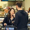 Ashley Greene and Paul Khoury – Shopping for Thanksgiving in LA - 454 x 681