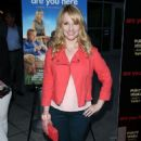 Melissa Rauch Are You Here Premiere In Hollywood