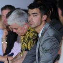 Joe Jonas attends Calvin Klein Fashion Show 2011 in Milan, Italy