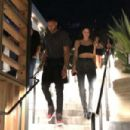 Kendall Jenner and Ben Simmons – Leaving Javier's Restaurant in West Hollywood - 454 x 303
