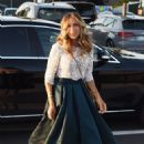 Sarah Jessica Parker – Arrives at Intimissimi Fashion Show in Verona