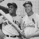Stan Musial and Willie Mays