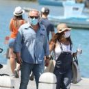 Salma Hayek – Seen on summer holidays touring the Greek islands in Mykonos