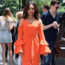 Regina Hall at 'The View' Studios in New York City - 454 x 754