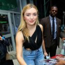 Peyton R List – Visits AOL BUILD in New York City
