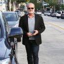 Kelsey Grammer and his wife Kayte Walsh are spotted out and about in West Hollywood, Calfiornia on January 8, 2015 - 454 x 581