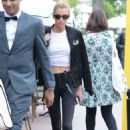 Stella Maxwell – Leaves Martinez Hotel in Cannes