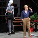Michelle Williams at the 'After The Wedding' set in Manhattan - 454 x 513