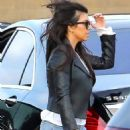 Kourtney Kardashian At Nobu Restaurant In Malibu