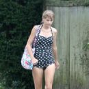 Taylor Swift: spent the afternoon in Hyannis