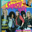 W. Axl Rose, Slash, Izzy Stradlin, Duff McKagan, Steven Adler - Smash Hits Magazine Cover [United States] (November 1988)