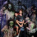 Haley Lu Richardson – Visits Knott's Scary Farm in Buena Park - 454 x 380