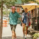 Hailey Baldwin and Justin Bieber – Went for lunch in New York City