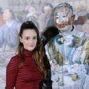 Charlotte Le Bon – Liu Bolin Exhibition Opening in Paris - 454 x 681