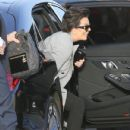 Kris Jenner was seen arriving at Nobu restaurant March 16, 2017.  (March 16, 2017 - 431 x 600