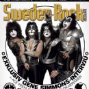KISS - Sweden Rock Magazine Cover [Sweden] (November 2009)