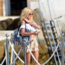 Victoria Silvstedt – Leaving the Hotel Du Cap in Antibes