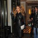Jennifer Lopez: heads out to make an appearance on 'The Daily Show with Jon Stewart' in New York City