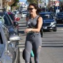 Teri Hatcher – Leaving a gym in Studio City