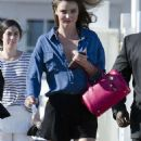 Miranda Kerr Arriving To A Photoshoot On The Malibu Pier